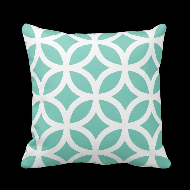 coussin motif geometrique cadeau noel zazzle