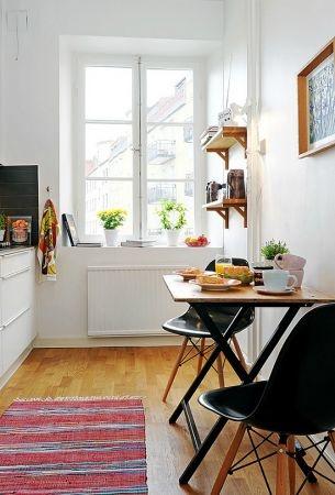Inspiration en vrac les petites cuisines cocon d co for Ideas para reformar cocina alargada