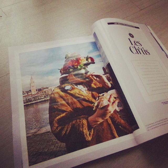 La #Flandre et #Dunkerque à l'honneur dans le magazine Géo de novembre #onnestpaschtis merci à @k_rouuline pour la lecture!