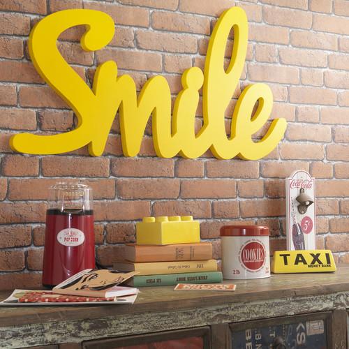 deco lettre smile