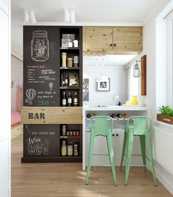 inspiration en vrac les petites cuisines cocon d co vie nomade. Black Bedroom Furniture Sets. Home Design Ideas