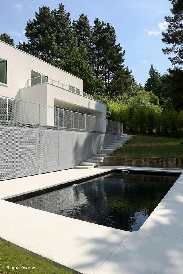 Caron piscines des piscines 100 b ton cocon de d coration le blog - Piscine christine caron ...
