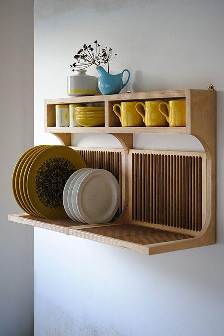 Inspiration en vrac les petites cuisines cocon de d coration le blog - Rangement vaisselle cuisine ...