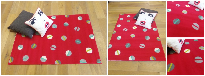 tapis flash rouge sol color dunkerque