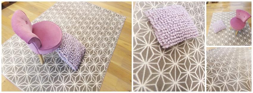 tapis geometrique sol color dunkerque