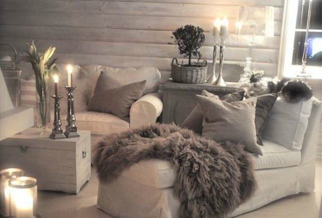 D co salon hiver - Decoration cosy et idees creatives ...