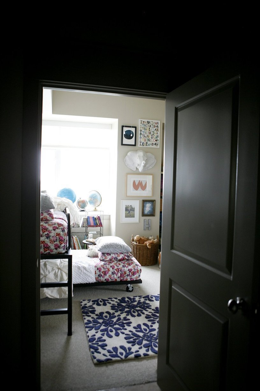 Visite un loft contemporain plein de charme cocon - Deco chambre loft ...