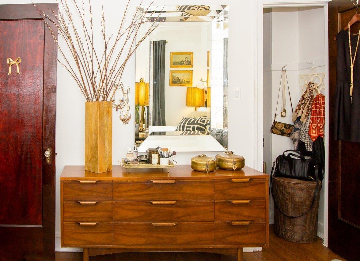 chambre mobilier vintage et feminin