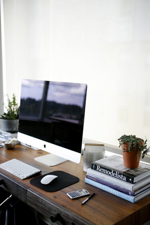 deco bureau loft contemporain