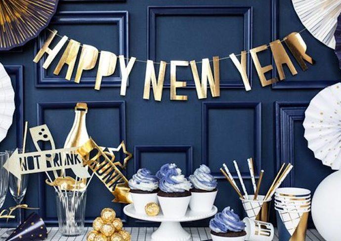 diy facile deco nouvel an