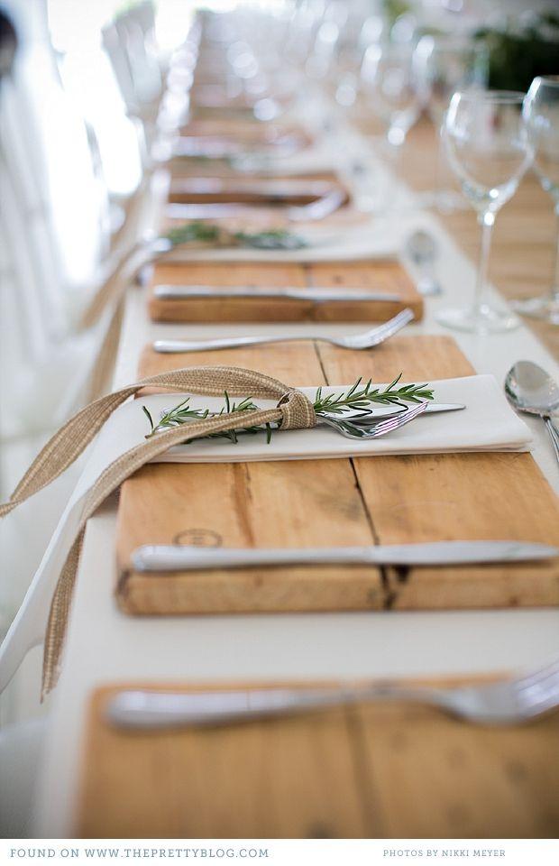 idee de déco pour une jolie table à Noël