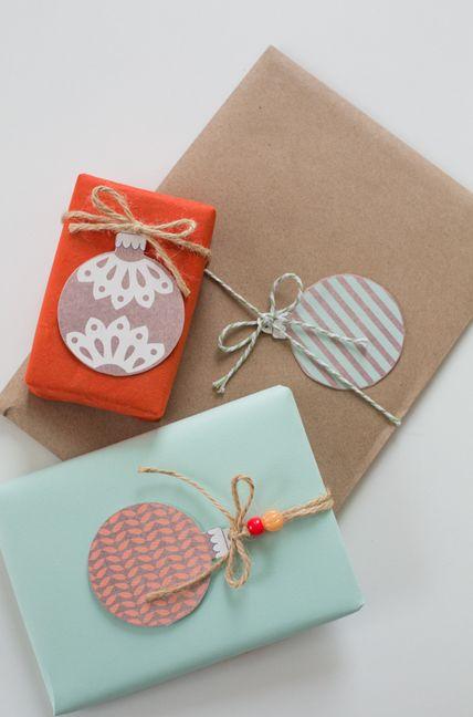 idee emballage cadeau noel
