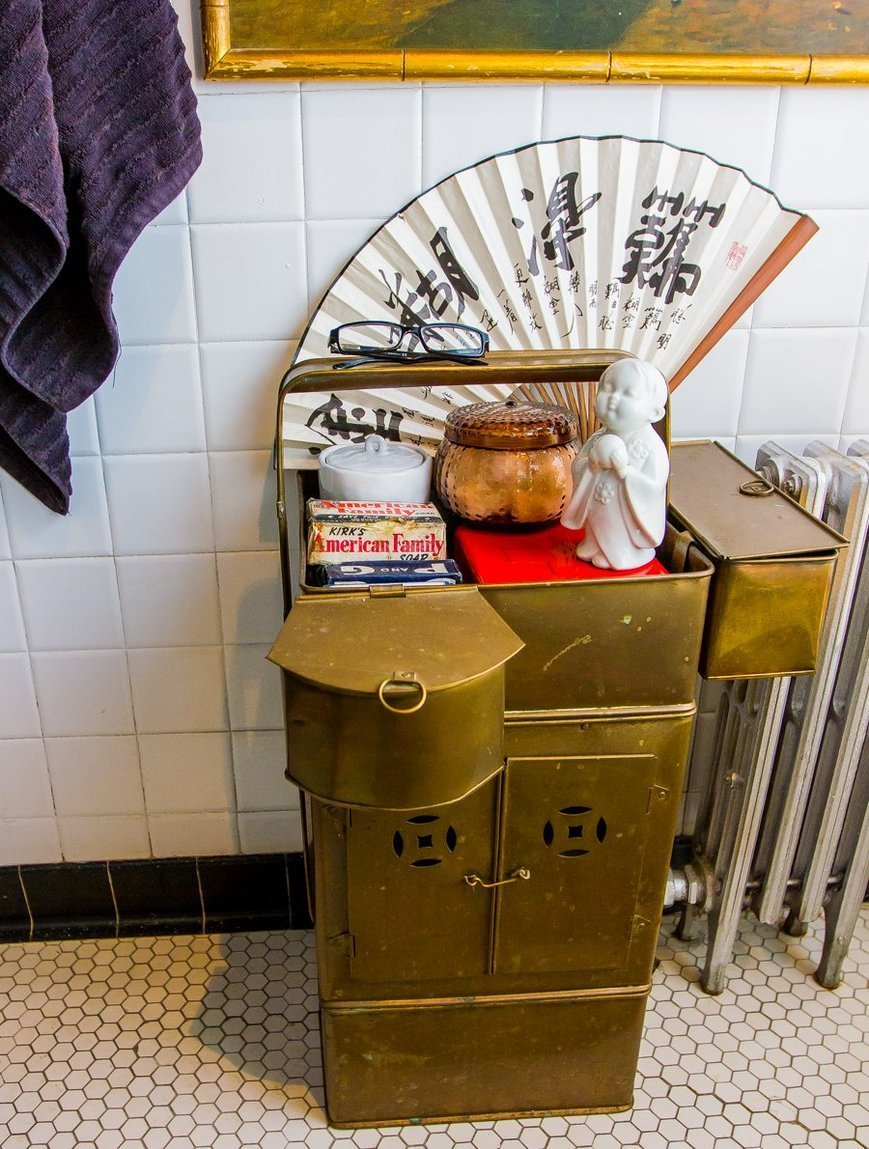 salle de bain rangement meuble