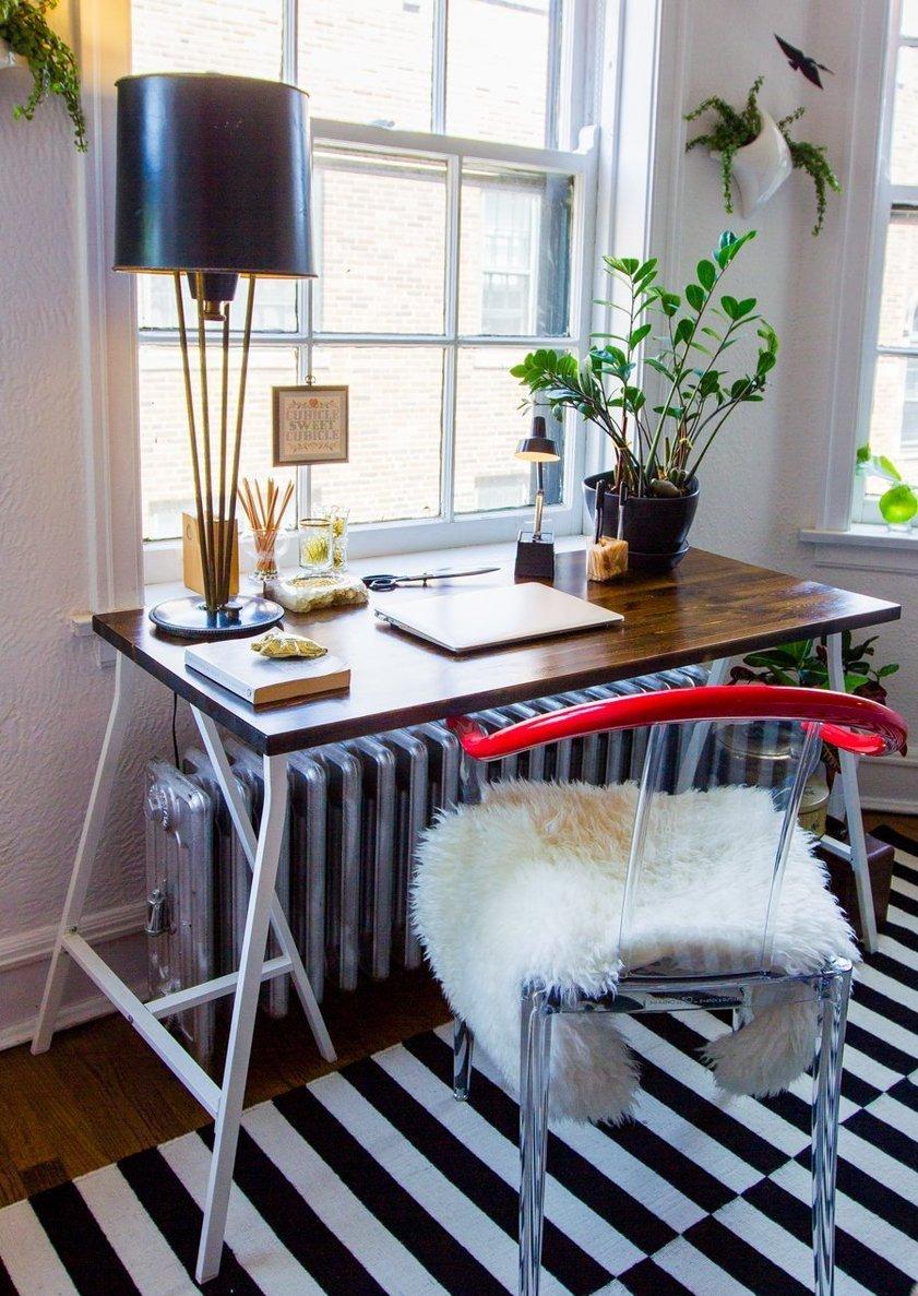 salon petit bureau fenetre