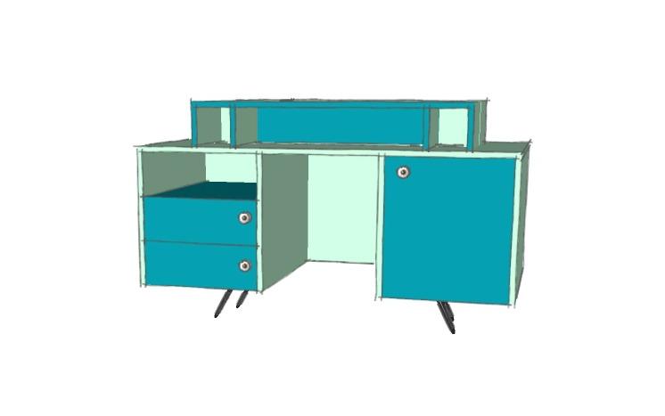 diy personnaliser un vieux bureau cocon d co vie nomade. Black Bedroom Furniture Sets. Home Design Ideas