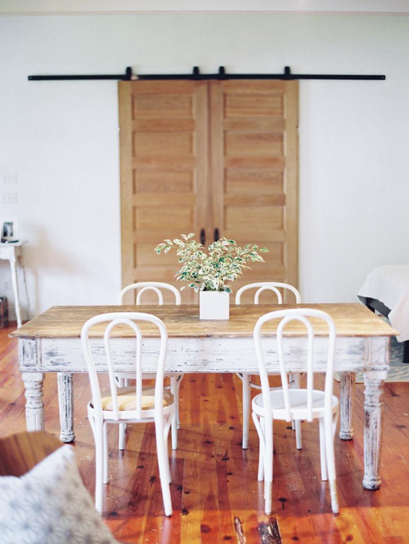 Visite un int rieur d licat et vintage cocon d co vie nomade - Porte coulissante salle a manger ...