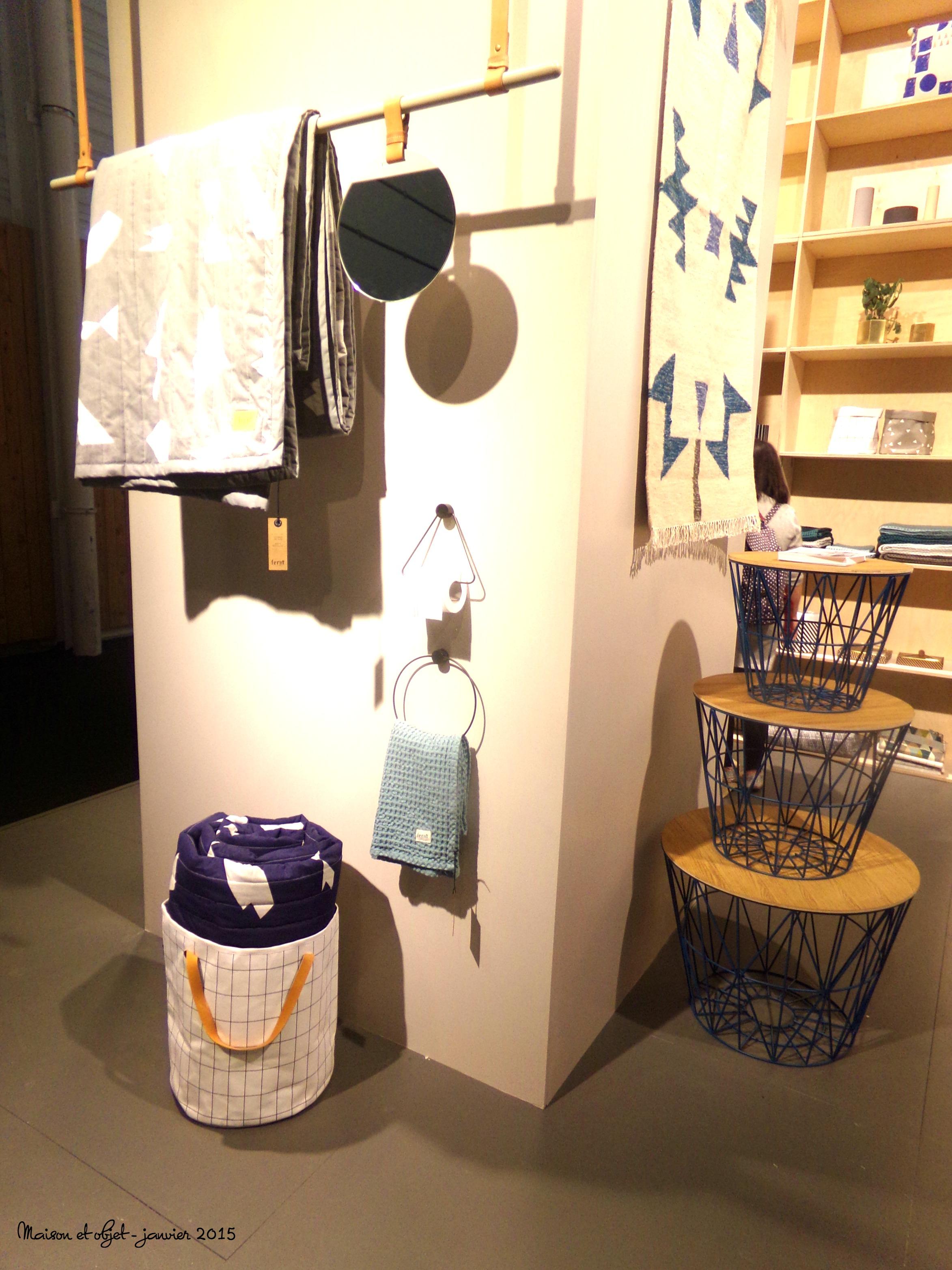 Maison objet janvier 2015 partie 1 cocon de for Deco salle de bain 2015