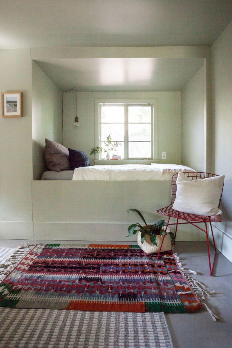 visite la simplicit de l uni cocon d co vie nomade. Black Bedroom Furniture Sets. Home Design Ideas