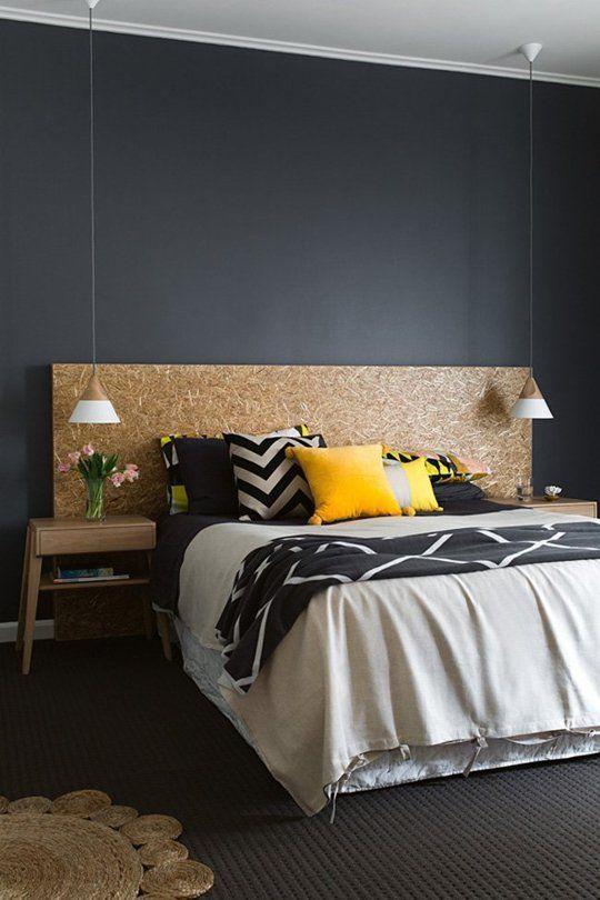 inspiration le noir une couleur intense cocon d co vie nomade. Black Bedroom Furniture Sets. Home Design Ideas