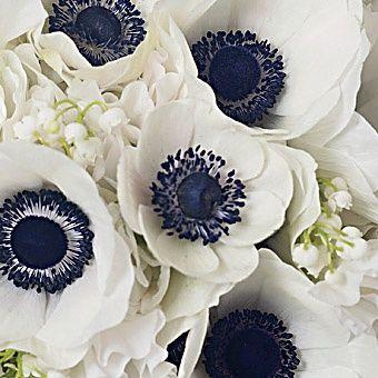 deco mariage noir et blanc fleurs