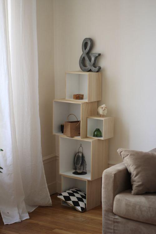 10 meubles malins quand on manque de place dans sa maison cocon de d cora - Meuble rangement modulable ...