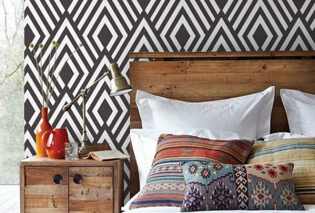 focus mati re le papier peint cocon de d coration le blog. Black Bedroom Furniture Sets. Home Design Ideas