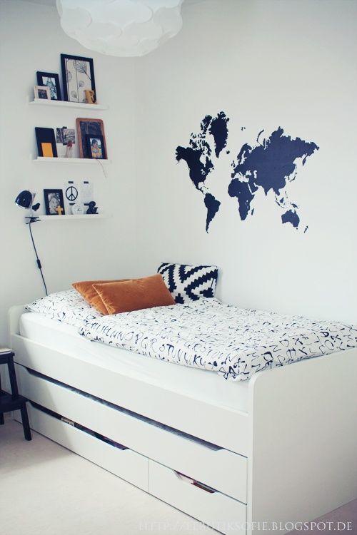 Globes terrestres et autre mappemondes dans notre - Camere da letto tumblr ...
