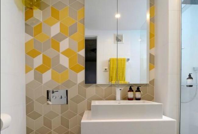 Awesome idee deco couleur salle de bain contemporary - Idee salle de bain deco ...
