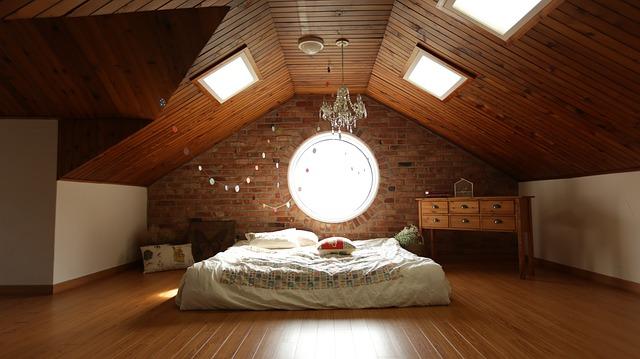 luminaire chambre combles