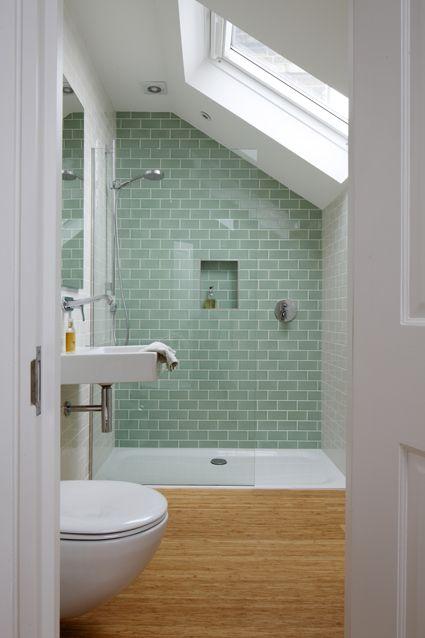 salle de douche idee deco couleur