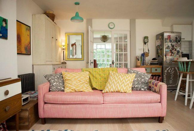 visite cottage a Londres couleur et vintage