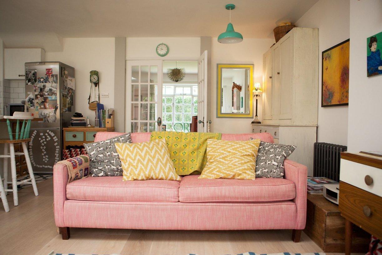 visite deco sofa rose
