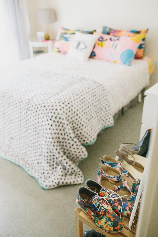 chambre rangement chaussures