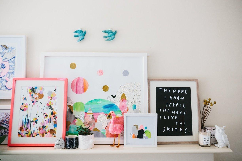 visite une maison color e et pleine de vie cocon d co vie nomade. Black Bedroom Furniture Sets. Home Design Ideas