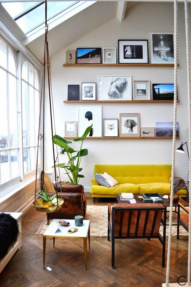 Inspiration le jaune met du tonus dans votre d co for Interieur stylist amsterdam