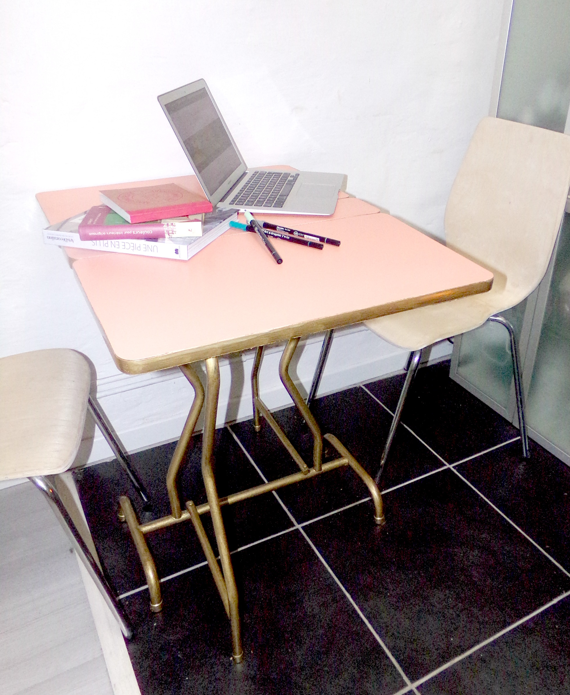 Cool petite table pliante personalie with table formica - Table desserte pliante ...
