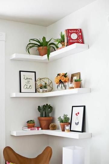 plante interieur deco etagere angle