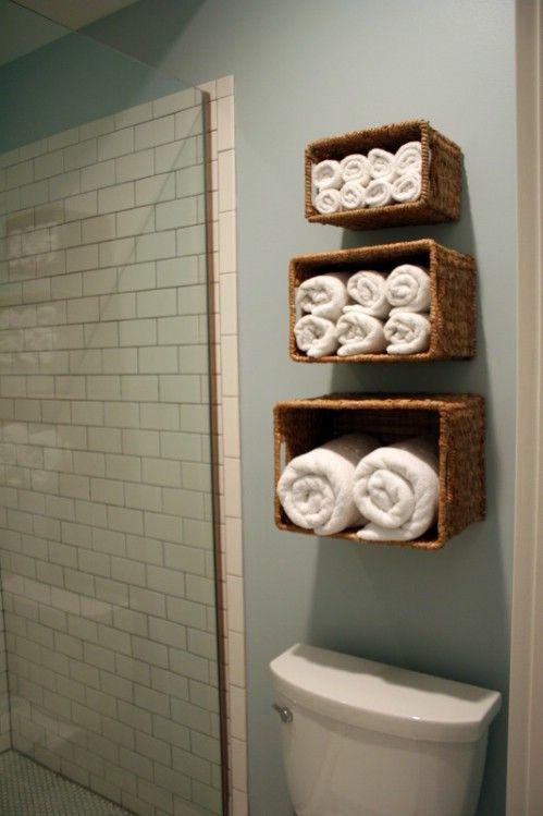 rangement pratique salle de bain