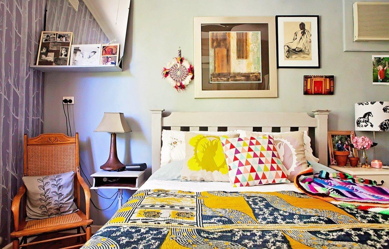 chambre couleur textile