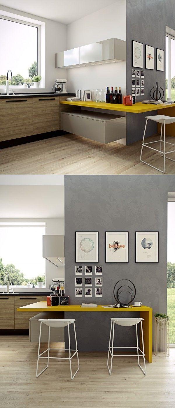 Le gris dans la cuisine Рcocon de d̩coration: le blog