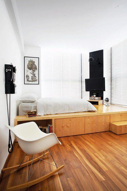 deco amenagement chambre estrade