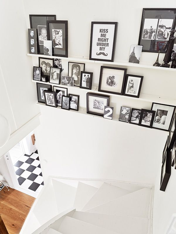 Comment d corer son escalier cocon de d coration le blog for Decorer grand mur blanc