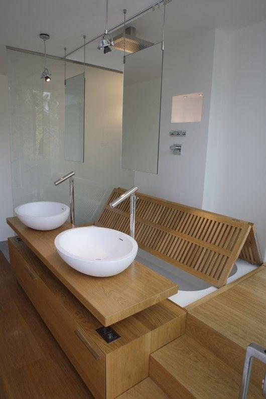 salle de bain estrade baignoire