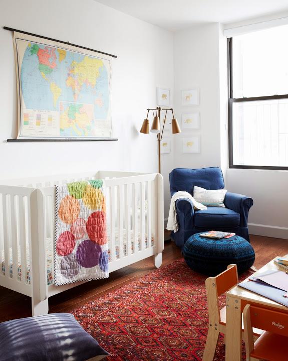 chambre enfant bebe deco eclectique