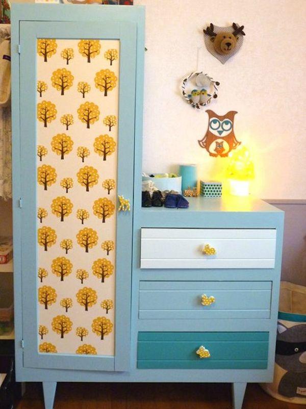 idee deco personnalisation meuble enfant