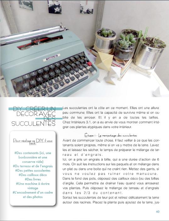 interieur 31 magazine diy