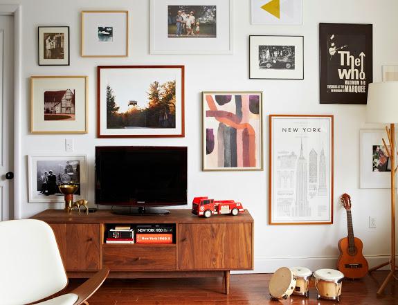 meuble tele mid century