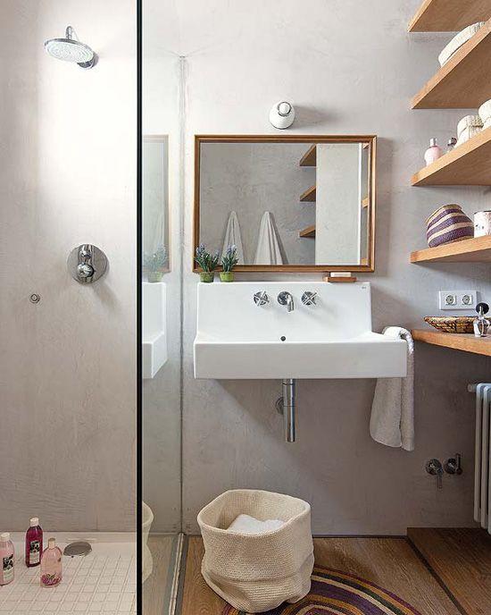 Du bois dans la salle de bain – Cocon de décoration: le blog