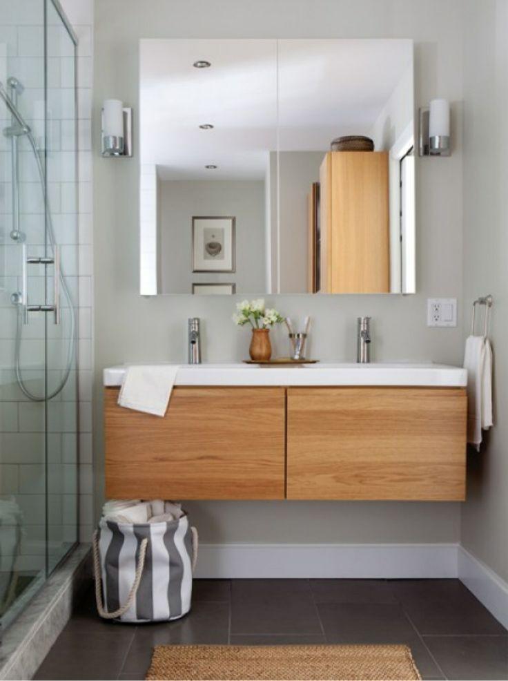 du bois dans la salle de bain cocon d co vie nomade. Black Bedroom Furniture Sets. Home Design Ideas