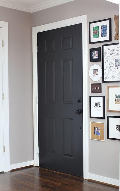 10 id es pour mettre en valeur une porte cocon de for Decoration cacher une porte